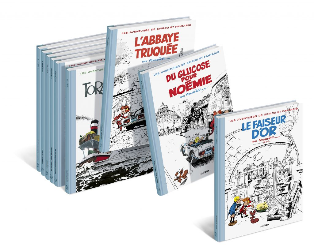 SPIROU & FANTASIO de JC Fournier : La Collection